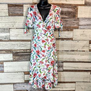 New Look Dresses - Beautiful Floral Wrap Dress Perfect for Spring NWT